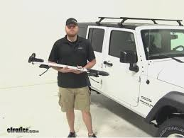 thule jeep wrangler thule sprint roof bike racks review 2015 jeep wrangler unlimited