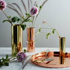 Log Vases Copper And Brass Louise Vases On Food52