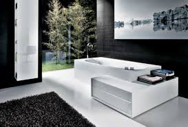 adorable bathroom decorating ideas chloeelan elegance white and black color schemed bathrooms decorating ideas for small home with remarkable bathtub