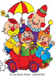 clown graphics 89 clown graphics backgrounds clowns clowns in the car on a white background vector vector