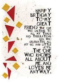 Happy Birthday Wishes To A Great Best Wishes On Your Special Day Happy Birthday Card For Friends