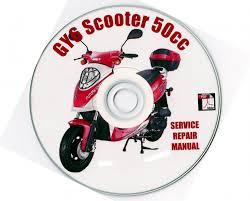 scooter 50cc service repair manual jinlun haizhimeng