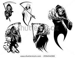 grim reaper tattoo download free vector art stock graphics u0026 images