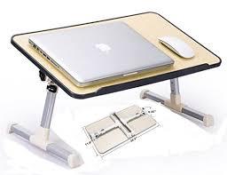 Folding Bed Tray Bed Folding Table Sedona Lap Table Bed Tray Antique Walnut