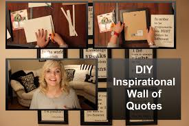 diy inspirational wall of quotes kikiinthemiddle youtube