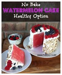 Easy Cake Decoration At Home Watermelon Cake Recipe