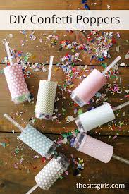 new years party poppers confetti poppers diy confetti party poppers new year s party