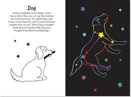 constellations scratch and sketch trace along activity book