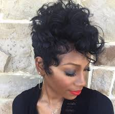 soft waves for short black hair 20 lovely wavy curly pixie styles short hair popular haircuts