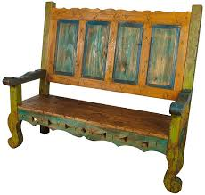Antique Wood Benches Sale by Best 25 Painted Benches Ideas On Pinterest Picnic Table Paint