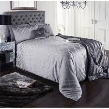isabelle jacquard duvet set king size bedding b m