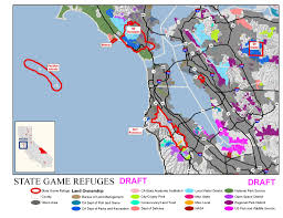 Map Of San Francisco Districts by Evaluation Of The Status Of Existing State Game Refuges