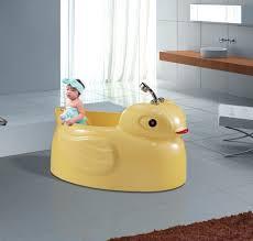 baby bath acrylic baby bath tub duck shaped 55 inch length