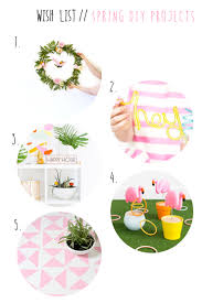 wish list wednesday spring diy projects a sunshine mission