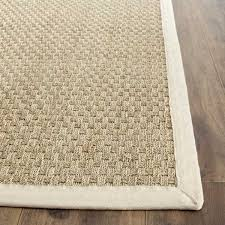 How Big Should A Rug Pad Be Alcott Hill Catherine Hand Woven Natural Ivory Area Rug