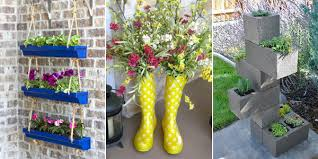 Front Porch Planter Ideas by 12 Unique And Easy Diy Planter Ideas For Your Front Porch