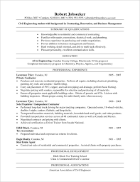 Good Job Titles For Resumes by Catchy Chemical And Areas Of Experience Civil Engineer Resume
