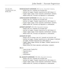 Account Supervisor Resume Absolutely Smart Business Resume Template 13 7 Free Resume