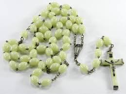 glow in the rosary large glow in the rosary 32 big made in italy