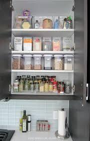 How To Organize Kitchen Cabinet Best 25 Kitchen Spice Storage Ideas Only On Pinterest Spice