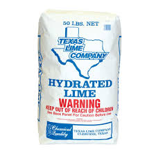 For The Home Store by Txi 50 Lb Hydrated Lime 5195 The Home Depot