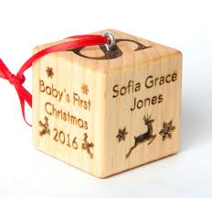 personalized baby christmas ornament 2 baby block christmas ornament personalized baby block