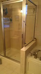 Leaking Shower Door Leak Shower Frame Is Leaking At The Corner Home Improvement
