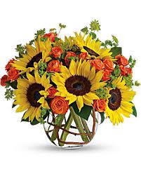 bouquet of sunflowers sunflowers teleflora