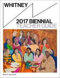 2017 biennial whitney museum of american art