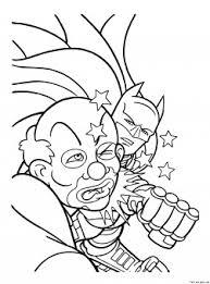 printable superheros batman joker coloring super heros