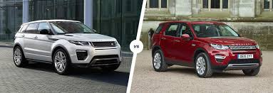 land rover sports car range rover evoque vs land rover discovery sport carwow