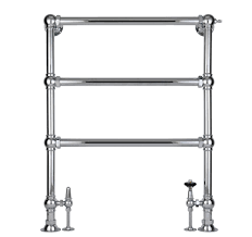 floor bar to wall towel rail and water electric heated rmostatic