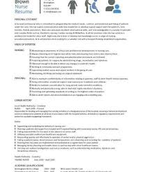 Nurses Resume Templates Nurse Resume Templates Registered Nurse Resume Sample Best 20