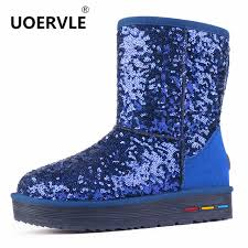 womens boots australia cheap uoervle 2017 bling boot cow leather sequined cloth