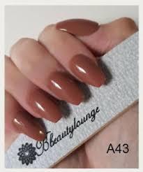 light brown nail polish bluesky a43 light brown gel nail polish soak off uv led 10ml free