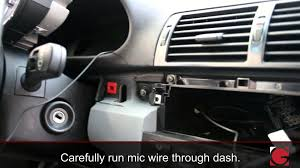 bmw e46 3 series grom android ipod usb bluetooth install demo 2000
