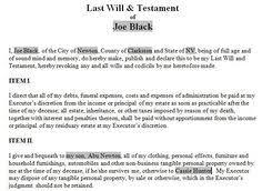 last will u0026 testament legal forms software standard legal last