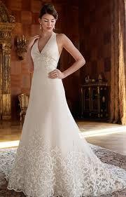 Halter Wedding Dresses Casablanca Bridal Wedding Dresses Gowns Lace Halter