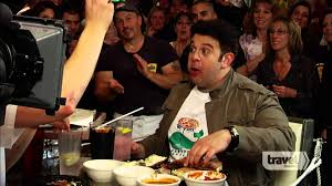 Man V Food Stuffed Pizza Challenge YouTube - Man v food kitchen sink