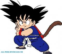 dragonball goku vector cartoon free vector free download