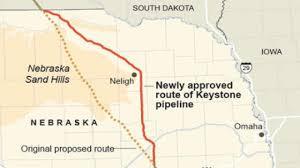 keystone xl pipeline map white house rejects keystone xl pipeline netnebraska org