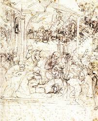 the adoration of the magi one of the first leonardo da