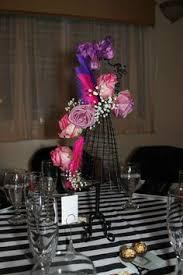 Paris Centerpieces Ideas by Coco Chanel Parisian Birthday Party Ideas 35th Birthday
