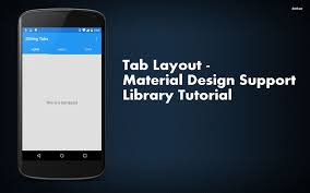 Navigation View Material Design Support Library Tutorial