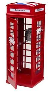 london phone booth bookcase found it at wayfair london telephone 70 standard bookcase