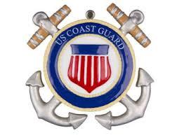 coast guard ornament etsy