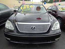 lexus miami used cars black lexus ls in miami fl for sale used cars on buysellsearch
