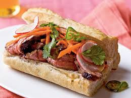 banh mi style roast beef sandwiches recipe myrecipes