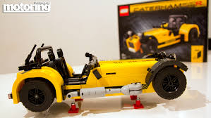 lego rolls royce we build lego caterham 7 620rmotoring middle east car news