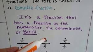 grade 7 math 4 1a part1 unit rates and complex fractions youtube